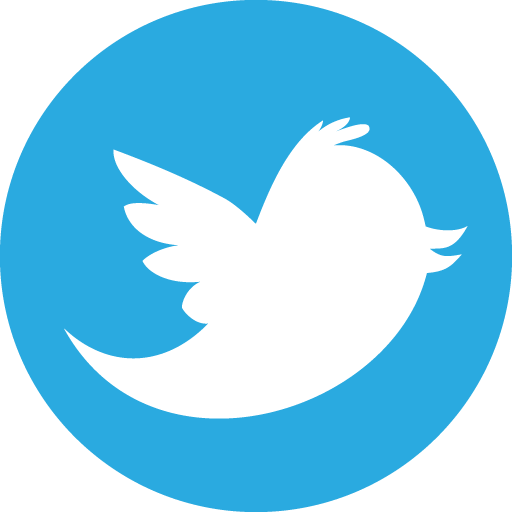 twitter circle icon
