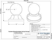 Finial F9 Form