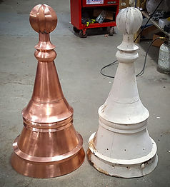 Before & After Finial