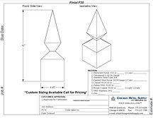 Finial F20 Form