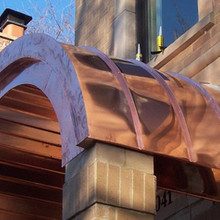Curved Standing Seam Roofing