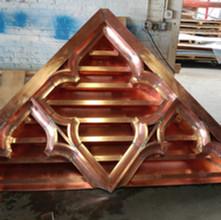 Custom Copper Louver