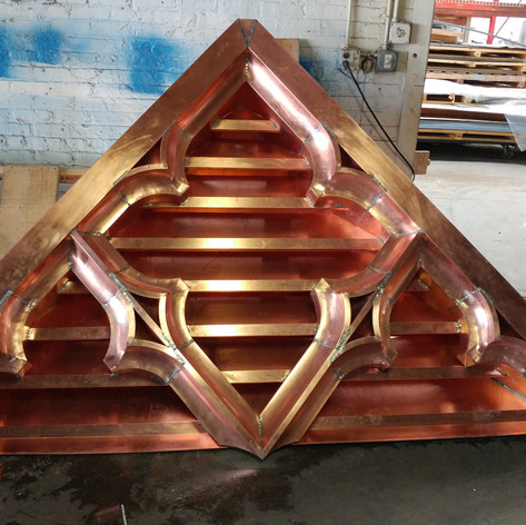 Custom Copper Louver
