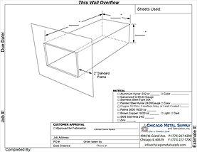 Thru Wall Overflow Box Form