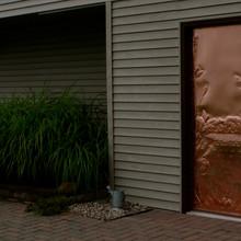 Custom Copper Door