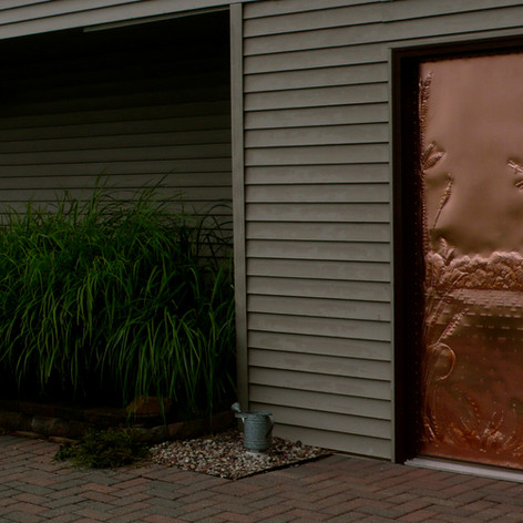 Custom Copper Door