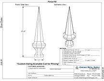Finial F8 Form