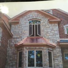 Copper Bay Window Roof