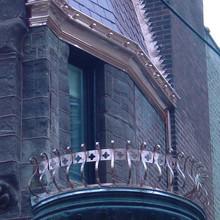 Custom Copper Balcony