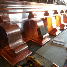 Copper Cornice