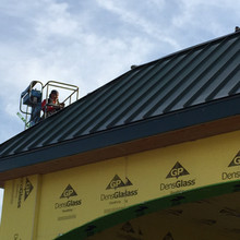 After Image of Standing Seam Roofing