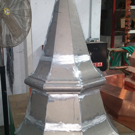 Lead-Coated Copper Finial