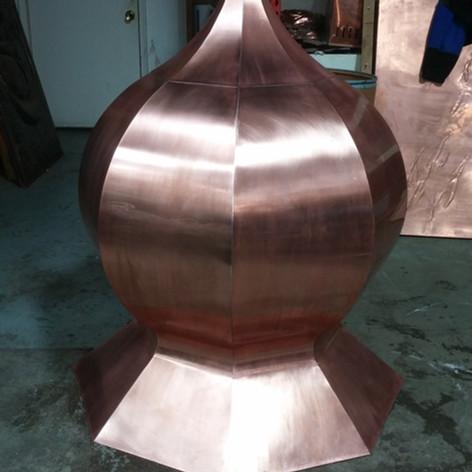 Copper Finial