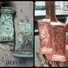 Decorative Copper Pieces