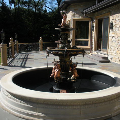 Custom Copper Fountain
