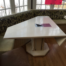 Before image of old table top