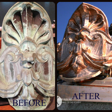 Bangor Maine Copper Decorative Pieces