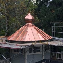 Copper Onion Dome