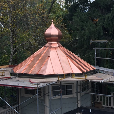 Copper Onion Dome