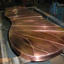 Custom Copper Bar Top