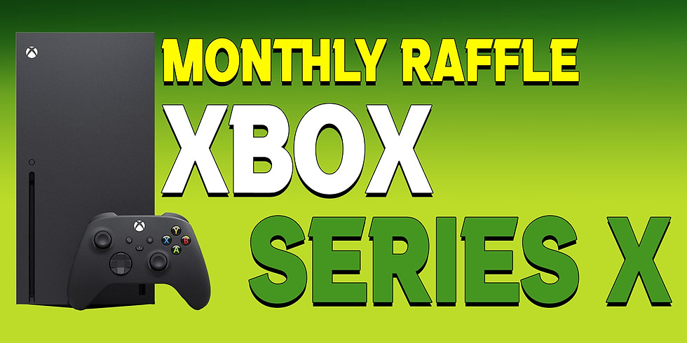 Xbox Series X Spring Raffle!