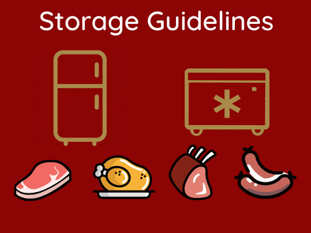 How long can you safely store meat in the fridge and freezer?