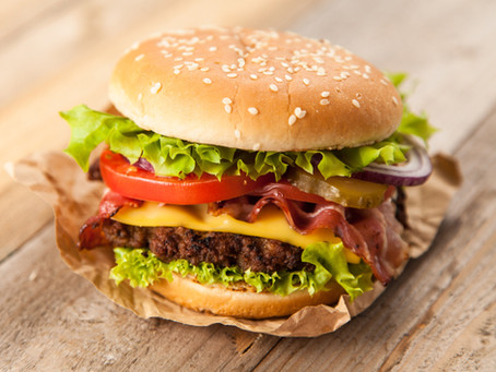 August Recipe of the Month- Beef Burger