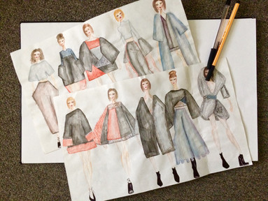 Secondary preliminary sketches