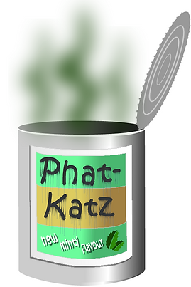 Phat-Katz minty cat food