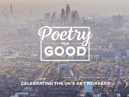 Poetry For Good: A poetry competition celebrating Key Workers