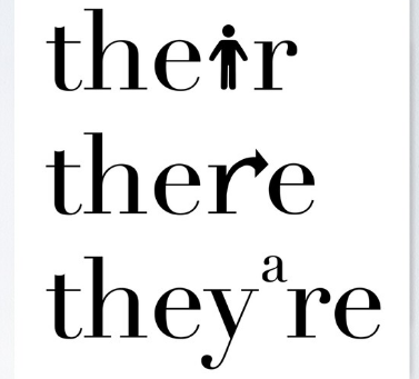 There, Their, They're