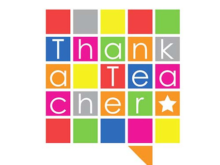 National Thank a Teacher Day ... #HowWillYouSayThankYou