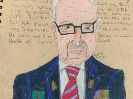 Sir Captain Tom Moore inspiring the next generation
