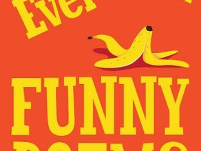 """Brian Moses' """"The Best Ever Book of Funny Poems."""""""
