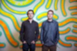 Artists Josh Sperling and Sam Friedman w