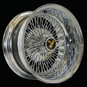 72 Spokes Straight Laced Wire Wheel