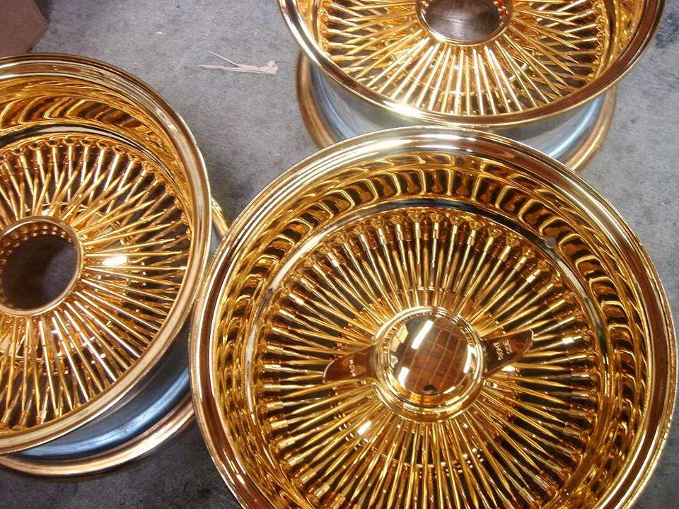 100 Spokes All Gold