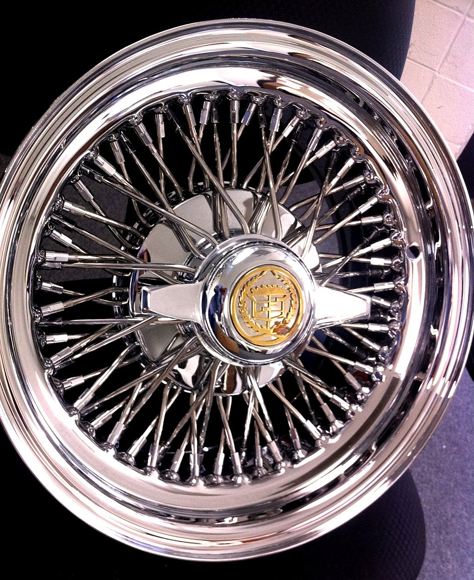 Luxury 13x7 Wire Wheels Gold Elaboration - Everything You Need to ...