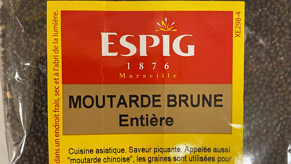 Moutarde brune Entiere100g