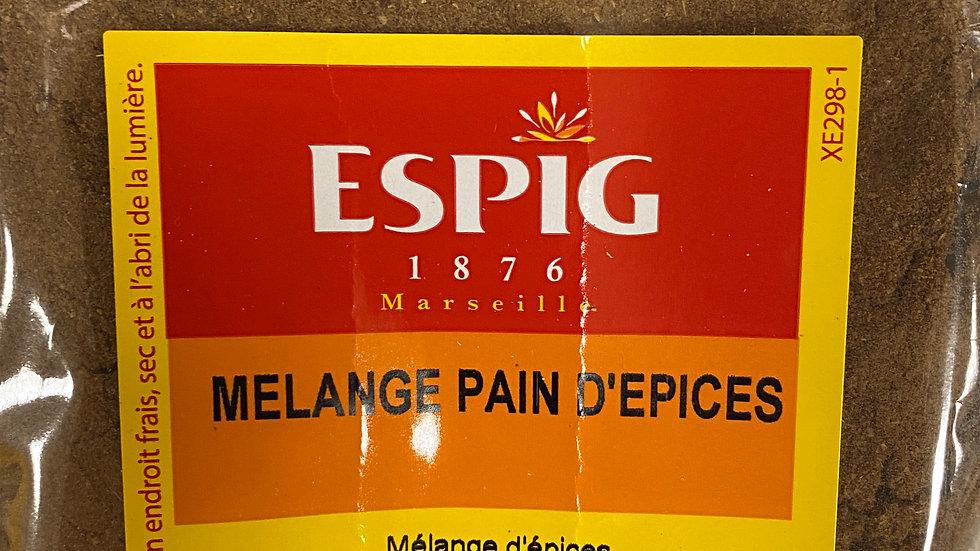Mélange Pain d'épices 100g