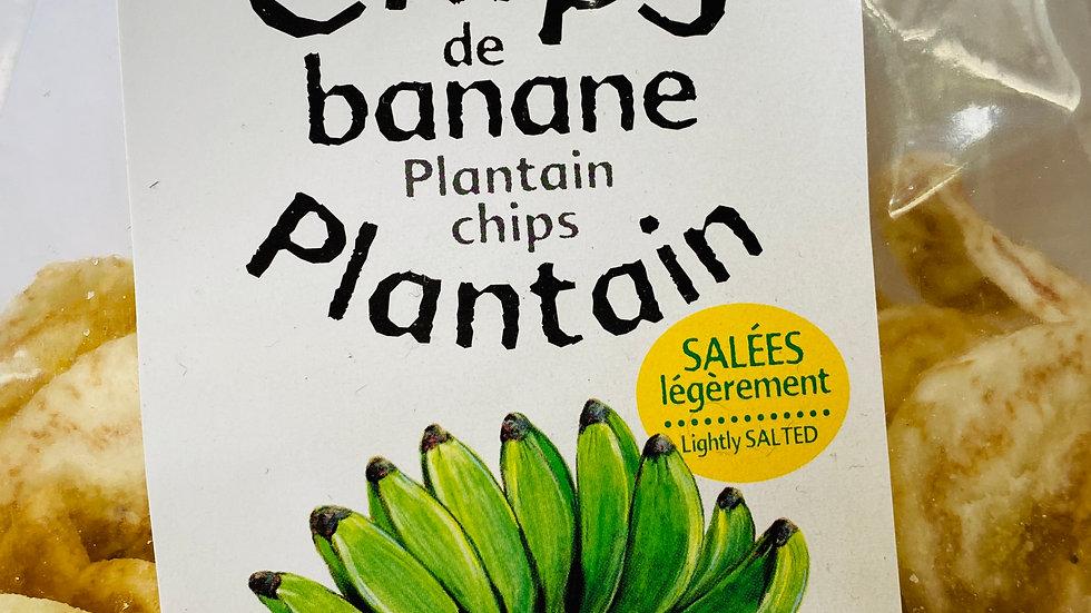 Chips de banane plantain BIO
