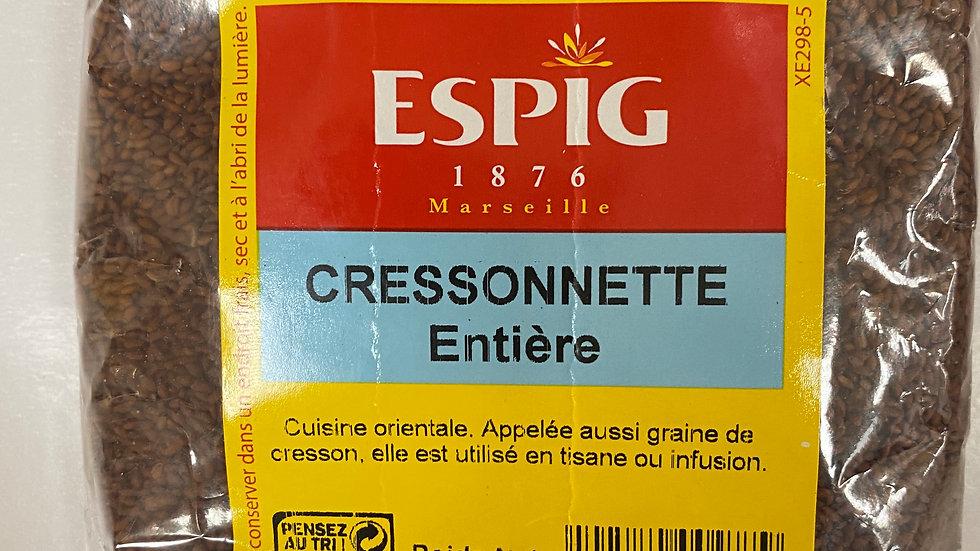Cressonnette Entier 250g