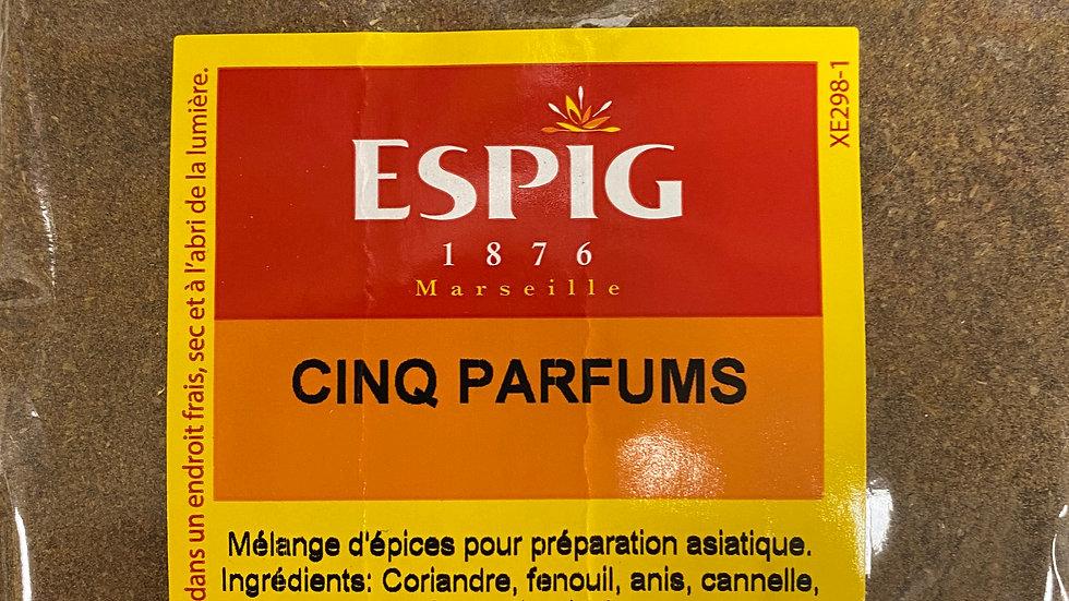 Cinq Parfums 100g