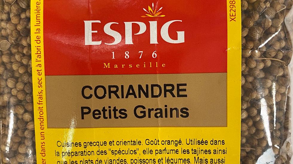 Coriandre Petits grains 100g