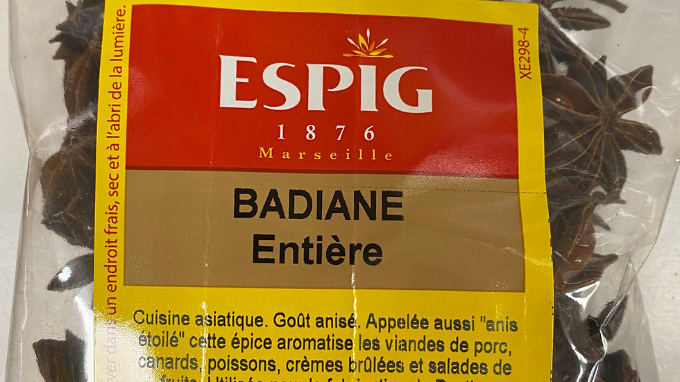 Badiane Entière 50g
