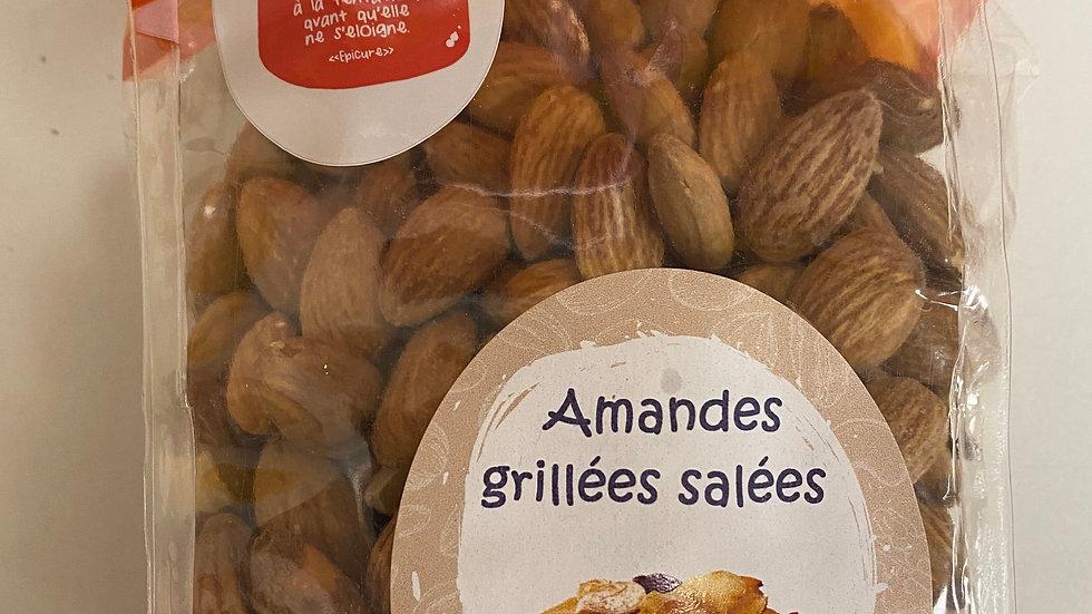 Amandes grillées salées 250g