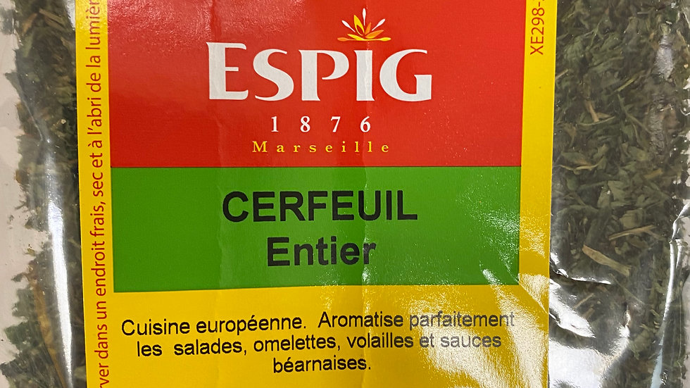 Cerfeuil Entier 20g
