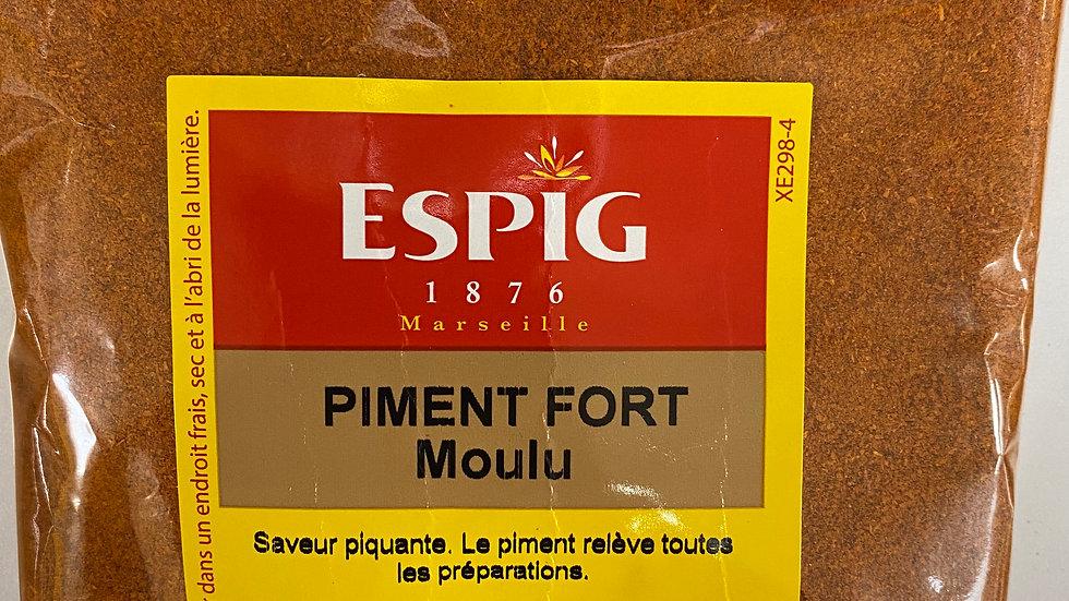 Piment fort Moulu 100g