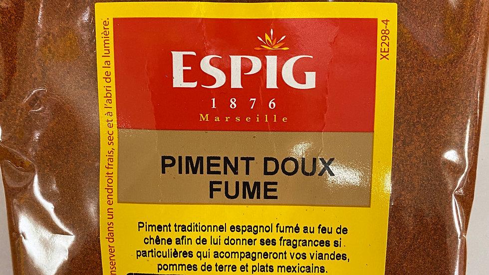Piment doux fumé 100g
