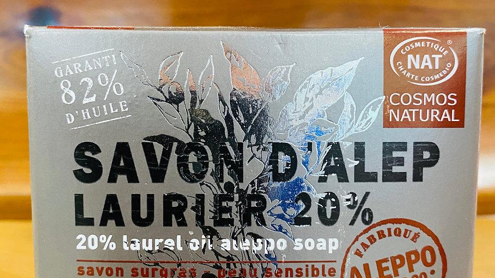 Savon d'Alep – Laurier 20%